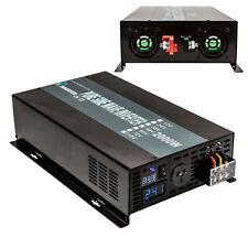 EMC CE approved 12V to 240V 50HZ 2000W Off Grid Pure Sine Wave Inverter
