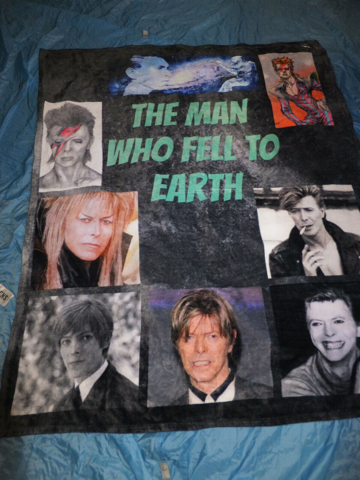 David Bowie Soft Fleece Throw Blanket, Pop Musician David Bowie ,61x49
