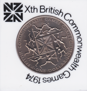 xth british commonwealth games 1974 coin