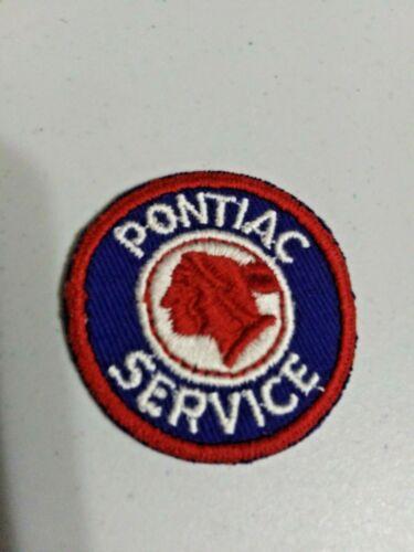 VINTAGE Embroidered Automotive Gasoline Patch UNUSED PONTIAC SERVICE