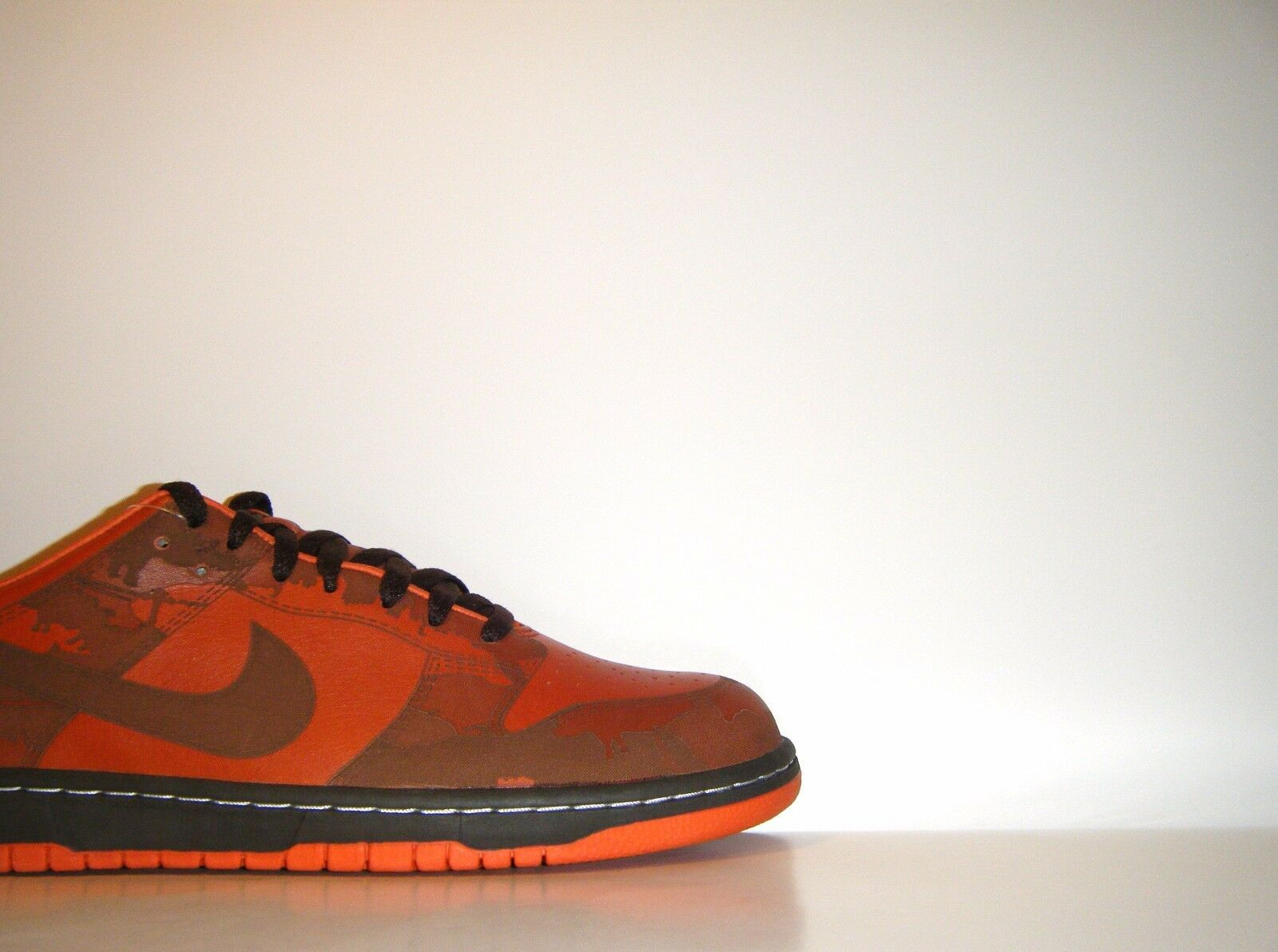 Vtg 2005 Nike Dunk Low 1 Piece Laser Pro IK Sample Premium Sz 10.5 SB Sample IK 311611-821 15aa88