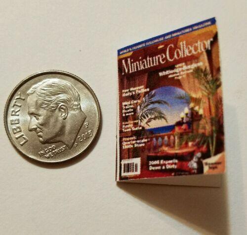 Miniature dollhousebook 1/12 Scale  Miniature Collector Magazine Ocean