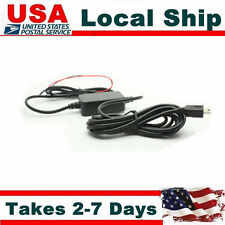 12v to 5v hard wire Cable  Line Power Cord For Car Dash Cam Mini0801/A119/A