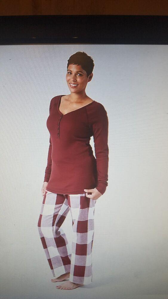 Bnwt Mothercare Maternité Nursing/alimentation Pyjamas 2 Piece Set Rouge Taille M 12-g Pyjamas 2peice Set Red Size Small 10