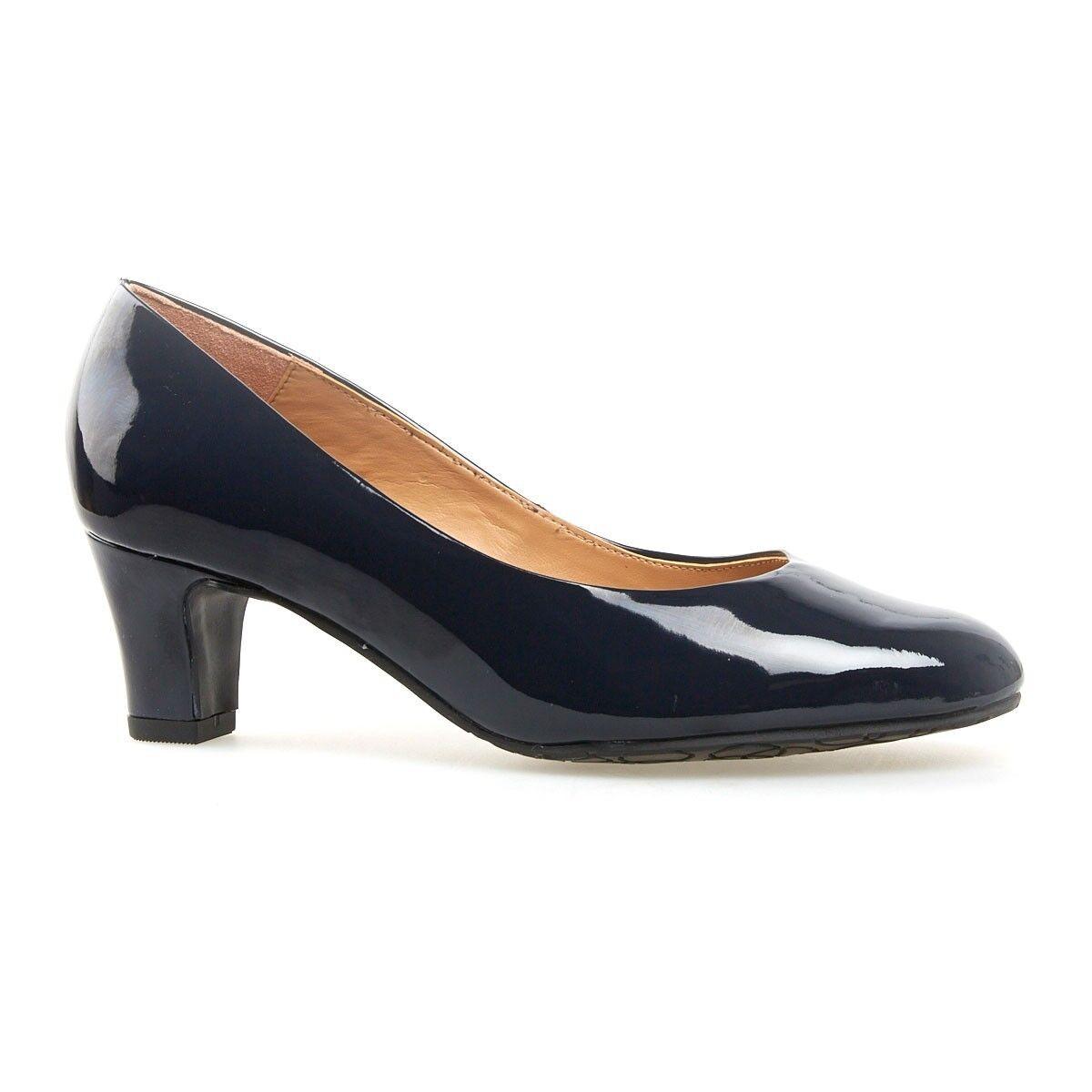 Recortes de precios estacionales, beneficios de descuento Van Dal vatios clásico Slip On patente Tribunal Zapatos /41  .95 Marine Azul Marino