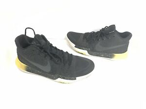 new style 16141 3403f Details about Nike Kyrie Irving 3 Black & Yellow 852395-901 Men's Size 11  Basketball Shoes