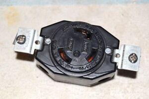 Leviton New Nwob 70530 Nema L5 30 Twist Lok Lock 3 Pole