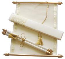 scroll wedding invitation wedding scrolls s928 ebay