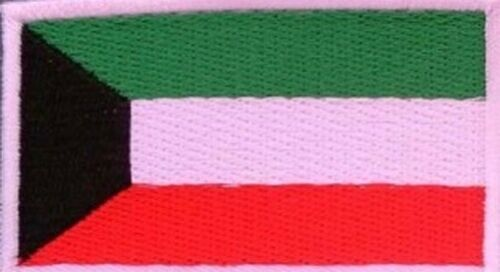 """Nation Flag Emblem 1.2/"""" x 1.8/"""" Embroidered Iron-On Patch Backpack Cloth Applique"""