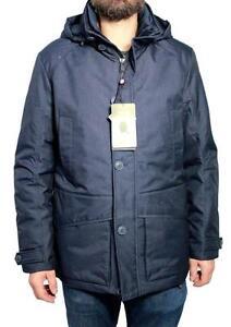 sale retailer 92bee be01a Dettagli su CANADIENS giaccone uomo blu modello CT0137 JEKEL/U JKT
