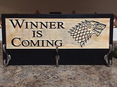 Winter is coming Game of thrones House Stark Handmade Wooden Plaque