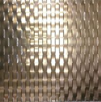2 Ft X 2 Ft Decorative Ceiling Panel Weave In Oild Rubbed Bronze Pvc