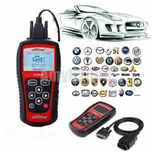 KW808 Car Scanner Tool EOBD OBD2 II Diagnostic Engine Fault Code Reader Scan HM