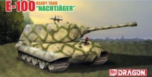 "E-100 Heavy Tank /""Nachtjager"" Kit DRAGON 1:35 DR6011X"