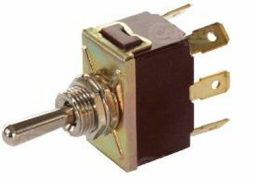 ON//OFF//ON TOGGLE SWITCH FLICK 6 TERMINALS SPRING LOADED 12V 16A 24v CARGO 180592