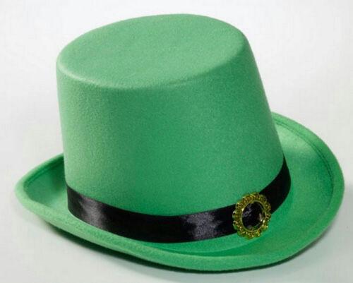 St Patrick/'s Green Leprechaun Top Hat