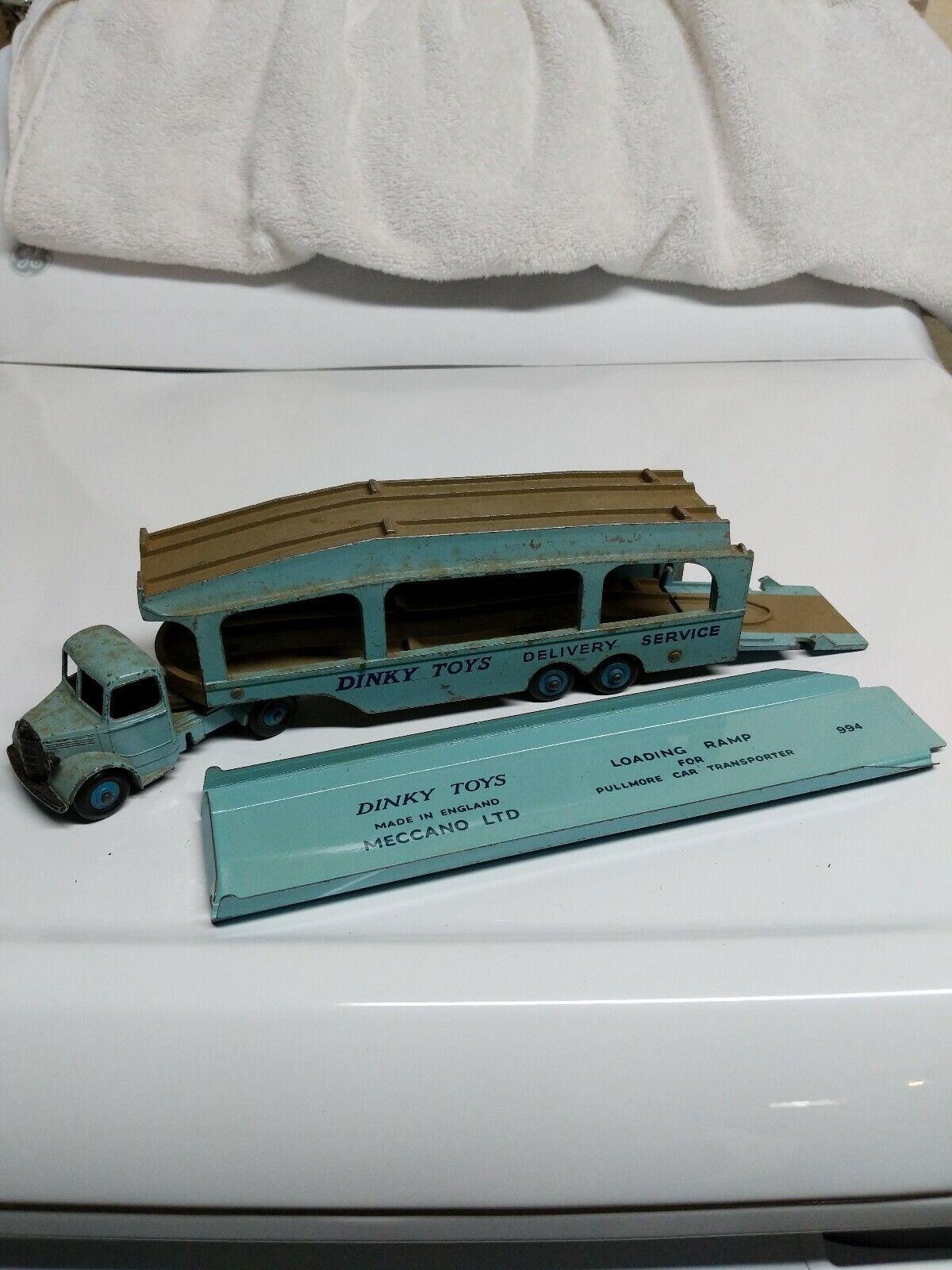 Mercancía de alta calidad y servicio conveniente y honesto. Dinky Juguetes Bedford y y y pullmore coche transporter  582 Azul Claro Hecho en Inglaterra  bajo precio