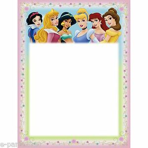 Princess invitations birthday image collections invitation 8 disney princess printable invitations birthday party supplies image is loading 8 disney princess printable invitations filmwisefo