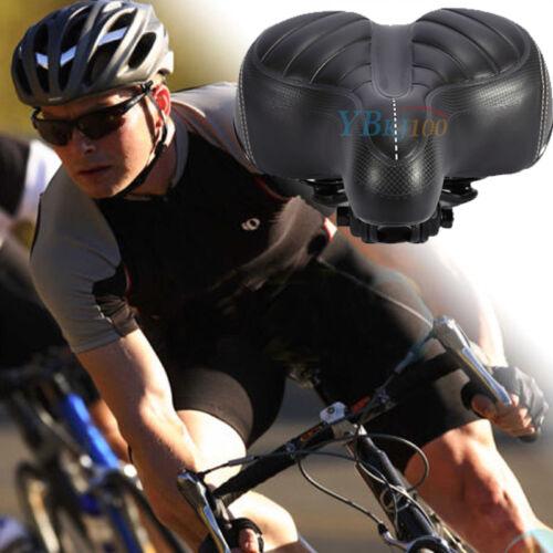 HOT Comfort Wide Big Bum Mountain Road Bike Bicycle Sporty Soft Pad Saddle Seat