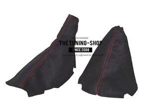 "Handbremssack Fur Nissan Skyline R33 1993-1999 Leder /""R33/"" Red Schaltsack"