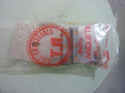 NIP réf 38 TA vintage T A JAQUES ANQUETIL ROUTE CLEATS EARLY 70/'S