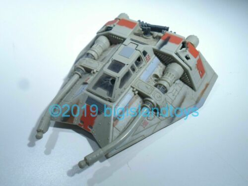 Star Wars Micro Machines Action Fleet Vehicle Battle Damaged Snowspeeder