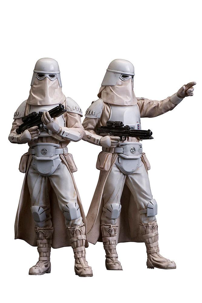 estrella guerras Snowtrooper 2Pack Artfx 110 PVC Statue KOTOBUKIYA