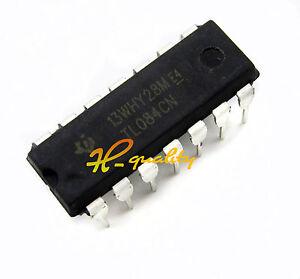 20Pcs TL084CN TL084 Quad Jfet-Input DIP-14 Op Amp Ic New qc