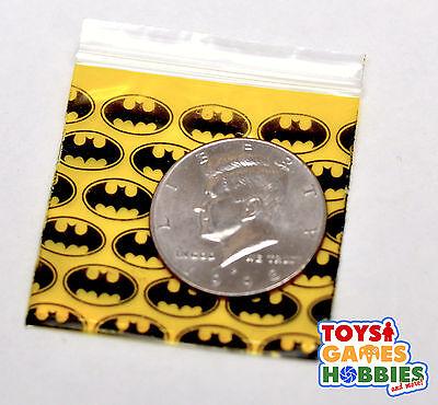 100 2x2 BATMAN Dark Knight logo Ziplock Bags Apple 2020 Party Favor lot DC Comic