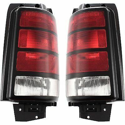 Pair Tail Light for 91-95 Dodge Caravan /& Grand Caravan LH RH