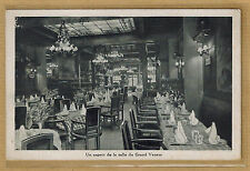 Cpa Paris 6 rue Demours - restaurant le Grand Veneur aspect de la salle rp0701