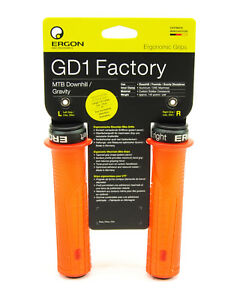 Ergon-GD1-Mountain-Bike-Downhill-Freeride-Handlebar-Grips-Orange