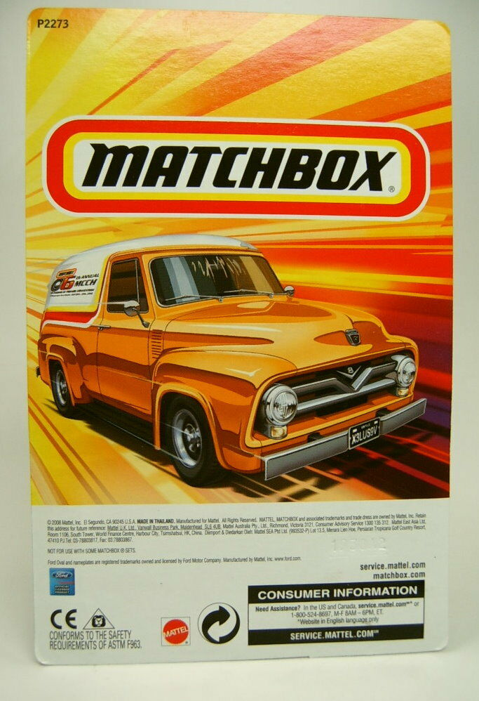 MATCHBOX MATCHBOX MATCHBOX FORD f-100