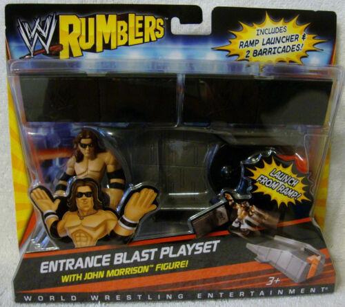 WWE Rumblers Entrance Blast Playset with John Morrison NIP