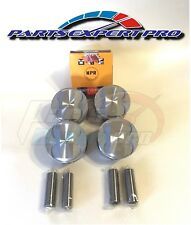 P29 HIGH COMPRESSION PISTONS W/RINGS JDM D16A D16Z6 D16Y HONDA CIVIC ZC 75.5 MM