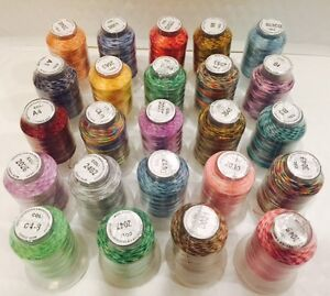 24-Spools-Variegated-Embroider-Machine-Thread-STUNNING-COLORS