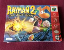 Rayman 2 (Nintendo 64, N64 1999) FACTORY SEALED! - EXCELLENT! - RARE!