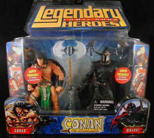 Marvel Legends Héros de la bande dessinée Conan Le personnage de Barbare contre Wrarrl