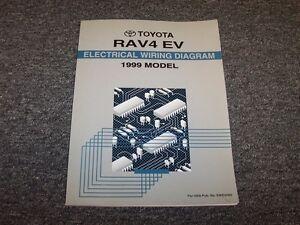 1999 Toyota Rav4 EV Electric Vehicle Electrical Wiring ...