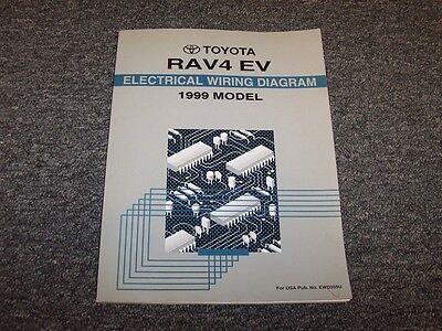 1999 toyota rav4 ev crossover factory electrical wiring