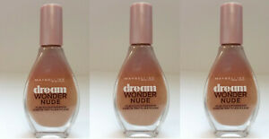 3x-Maybelline-Dream-Wonder-Nude-Foundation-Make-Up-10-Ivory-20ml-Neu