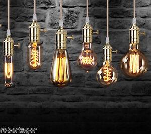 LAMPADINA-FILAMENTO-EDISON-LED-VETRO-BULBO-LUCE-RETRO-039-VINTAGE-COLORI-E27-E14