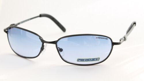 FISHBONE Original Sonnenbrille Sunglasses Lunettes Oval Blau DUAL Cool Blue Lens