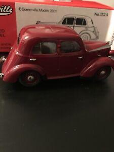 Raro-Somerville-Modelos-1-43-Vauxhall-10-H-Type-1939-No-152A-en-Caja-Original-Nuevo