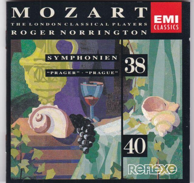 W.A.Mozart - Symphonien Nos. 38 & 40 (London Classical Players, R.Norrington)