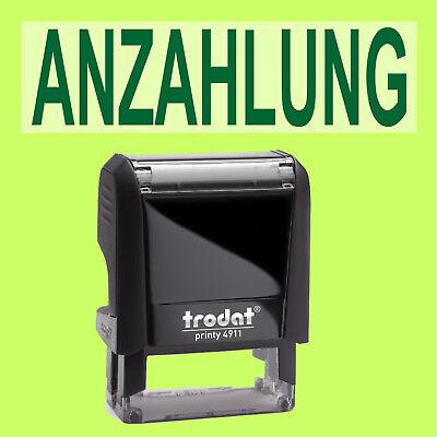Ausdauernd Anzahlung Trodat Printy Schwarz 4911 Büro Stempel Kissen Grün Stempel Papier, Büro- & Schreibwaren