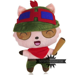 Big Penguin Stuffed Animal, League Of Legends Teemo Soft Toy Plush Lol Thyme Doll Snowman Cosplay Hat Ebay