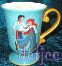 Disney Designer Fairytale doll Collection Princess Ariel and Prince Eric Mug!