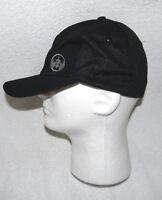 Bacardi Rum Hat Bat Logo Black Small Medium Lightweight