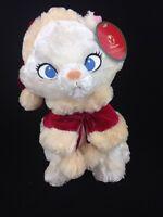Disney Store Exclusive Aristocats Marie White Cat Plush Stuffed Animal Christmas